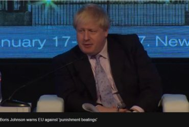 Brexit: Boris Johnson warns against 'punishment beatings'